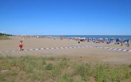 Spiaggia e mare di Cavallino