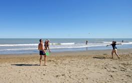 Racchettoni in spiaggia