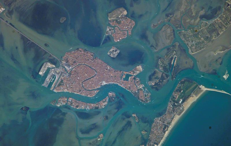 Venezia dal Satellite